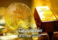 灰度再次投放反黄金广告,鼓励投资者将黄金储备配置成比特币