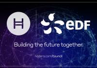 法国电力巨头EDF加入Hedera理事会,并将运营Hedera网络的一个节点