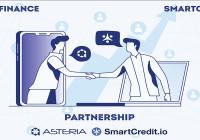 头部DeFi期权协议Asteria与DeFi借贷平台SmartCredit.io达成战略合作