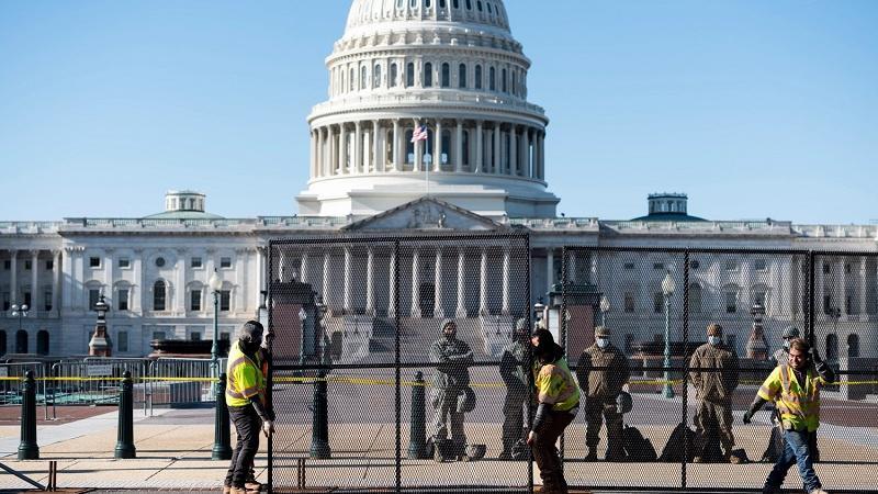 美众议院通过19亿元支出法案以增强国会大厦安全性_新闻频道_央视网(cctv.com)