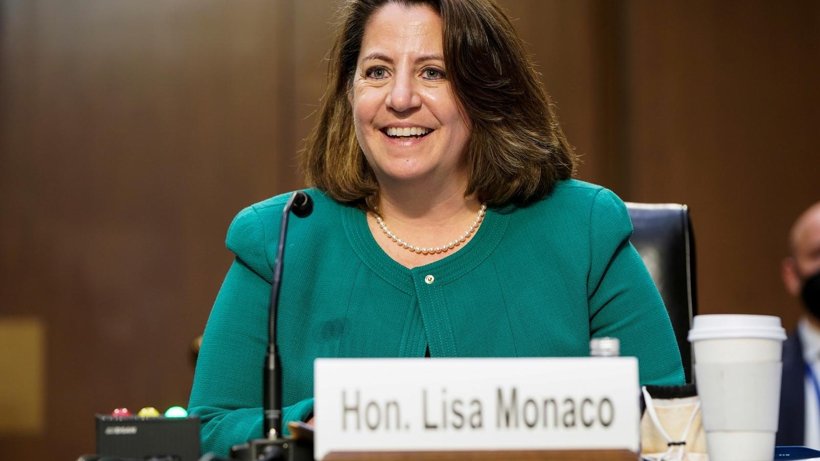 Biden pick Lisa Monaco wins Senate confirmation for no. 2 at DOJ |  Hindustan Times