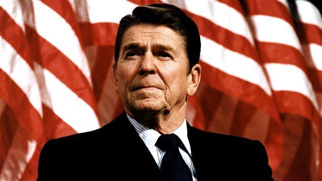 Ronald Reagan, un président populaire malgré la morosité   Aujourd'hui  l'histoire   ICI Radio-Canada Première