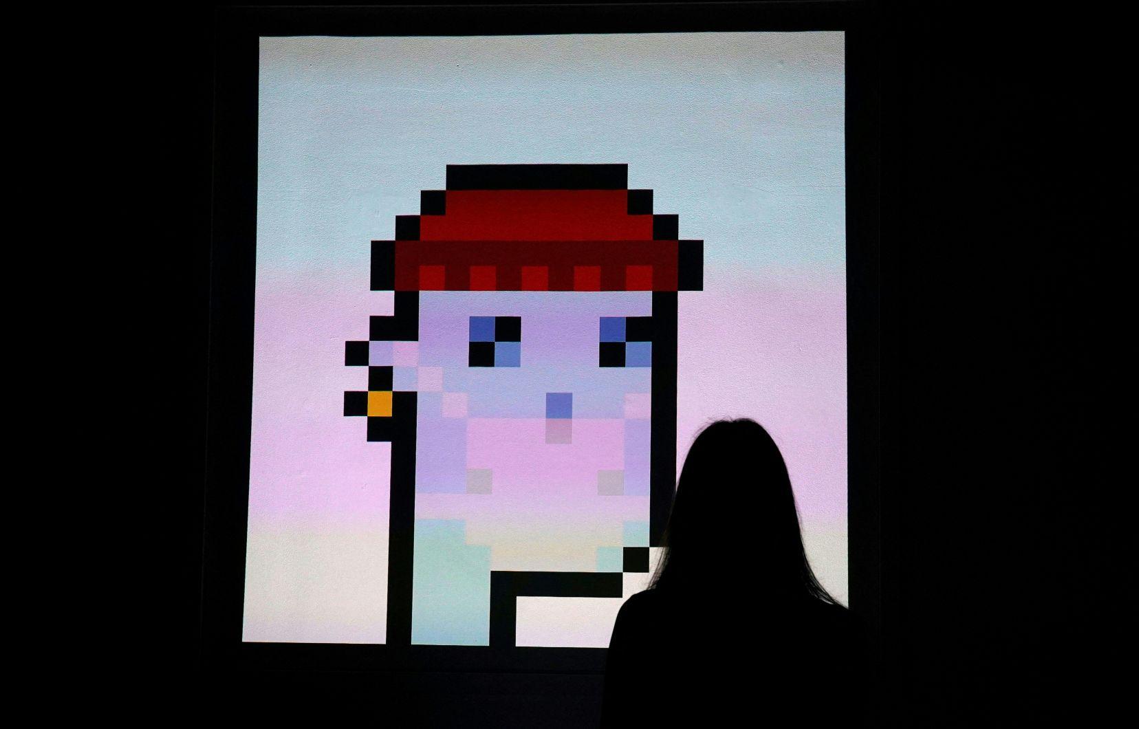Art: un personnage numérique «NFT» vendu 11,7 millions de dollars | Le  Devoir
